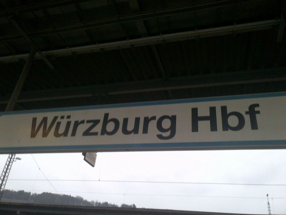 Wurzburg ... !! Things started to get brighter when i got here !!