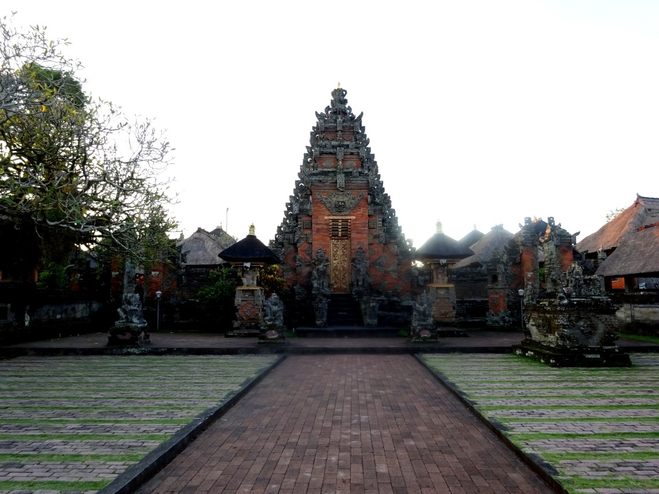 One of the temples in Ubud